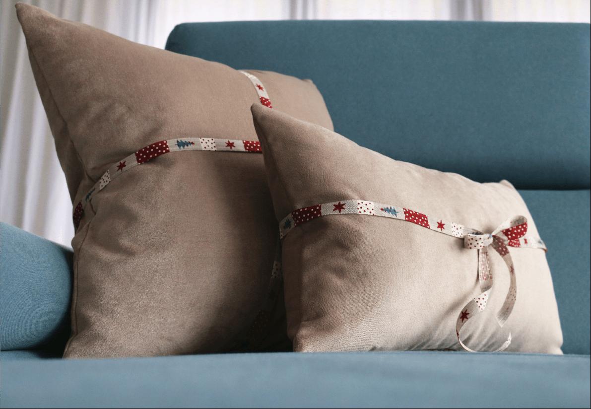 Poduszka Dekoracyjna Ciepły Beż 50x50